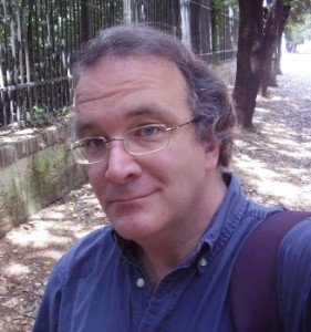 James Enge in the Villa Borghese in Rome, summer 2008.